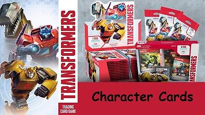 Transformers TCG Character Cards Wave 1 - Choose from drop down box
