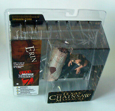 McFarlane Movie Maniacs Series 7 - Texas Chainsaw Erin 13,5 cm Figur 13+ Neu