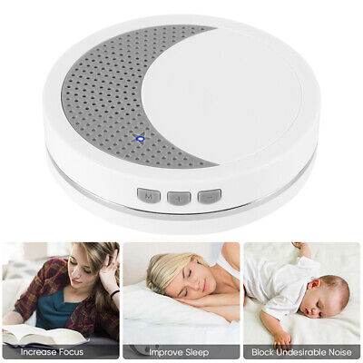 Mini Deep Sleep White Noise Baby Sound Therapy Machine Solution Peace Nature