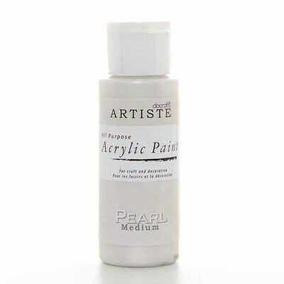 Artiste Crafter's All Purpose Acrylic Paint 2oz (59ml) - Pearl Medium
