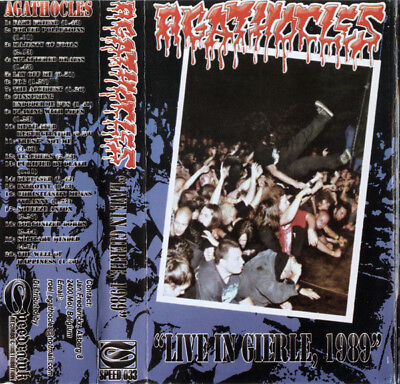 Agathocles ‎– Live In Gierle, 1989 pro done tape archagatus fear of god napalm d
