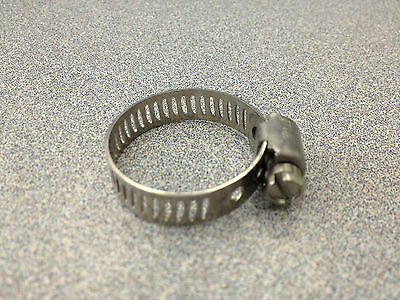 Breeze #6 Mini All Stainless Steel Hose Clamp 10 Pcs 3706