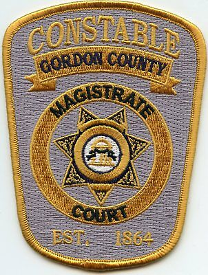 GORDON COUNTY GEORGIA GA MAGISTRATE COURT CONSTABLE sheriff police PATCH