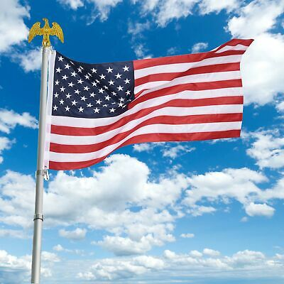YesHom 3x5 FT American USA US Flag Embroidered Stars Sewn Stripes Brass Grommets