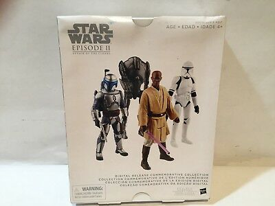 Hasbro Star Wars Episode II Attack Of The Clones Commemorative Collection