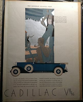 1931 1932 Car Ads Some With Full Color Graphics Some With Prices Great About 37
