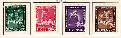 Slovakia WW2 German Protectorate Stamps Collecting set 1942 MLH