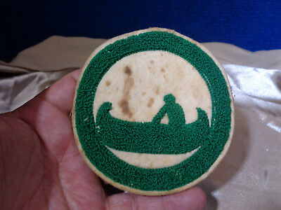 Old Boy Scout Camp Patch