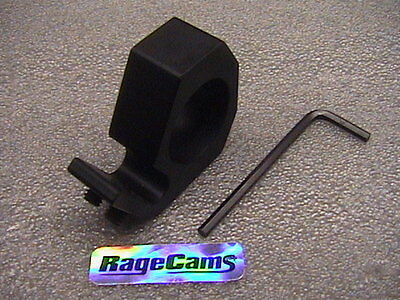 Blackjack Mount Fireman Helmet Camera/flashlight Clamp Firecam Model Black Jack