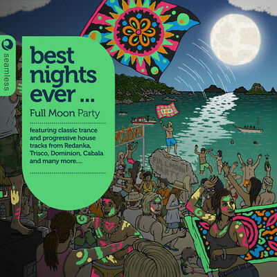 Various Artists : Best Nights Ever... Full Moon Party CD (2013)