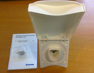 Truma Ultraflow Winter Compact Water Inlet White Housing 46030-01