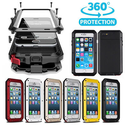 360° Hybrid Heavy Duty Shockproof Full Body Protective Case Cover For iPhone
