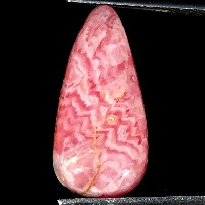13.80Cts 100% Natural Pink Rhodochrosite Pear Cabochon Loose Gemstone