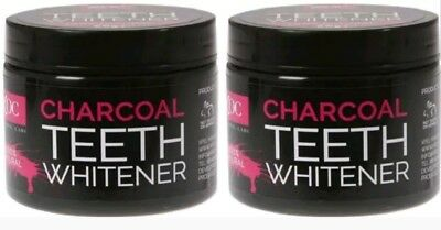 2x Xpel Charcoal Teeth Whitener Powder 60g & Activated Charcoal White Mouthwash