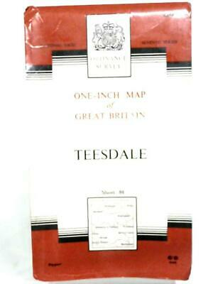 One-inch map of great britain sheet 84 teesdale (unknown - 1964) (ID:05529)