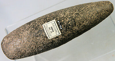 Neolithic stone axe, ex. F S Clark collection, from India