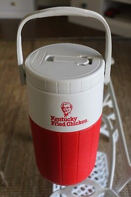 RETRO Made in USA 1980s Kentucky Fried Chicken Water Cooler with Pouring Spout