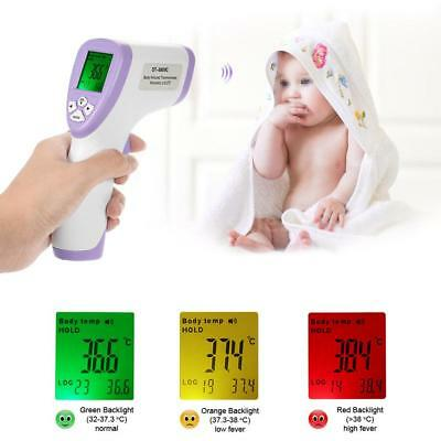 Digital IR Infrared Thermometer Baby Body Forehead Laser Temperature Gun G0H5
