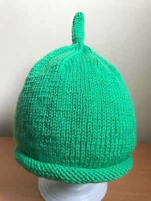 Hand Knitted Cashmere & Wool 'Sarah & Duck' Inspired Baby Hat 0-24 months