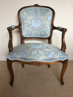 Reproduction French Style Chair.  Statement piece.