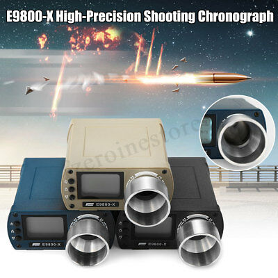E9800-X High-Precision Shooting Chronograph Speed Tester Airsoft BB Tool Measure
