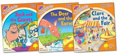NEW SET of 3 x OXFORD READING TREE SONGBIRDS  STAGE 6
