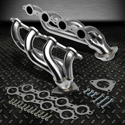 For 02-16 Gmc Sierra Truck Stainless Steel Performance Exhaust Header Manifold