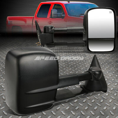 For 03-06 Gm Silverado/sierra Gmt800 Power+Heated Rear View Towing Mirror Pair