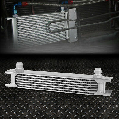 Universal 7-Row 10An Coolant/transmission/engine Oil Cooler Extra Radiator Kit