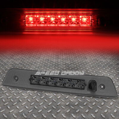 For 2005-2010 Jeep Grand Cherokee Smoked Housing Third 3Rd Brake Led Light Lamp