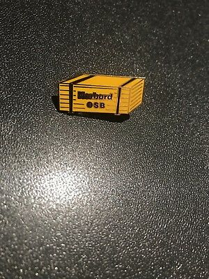 Home Depot Norbord OSB Wood SUPER OLD Collectible Apron Pin Homer Retail Rare