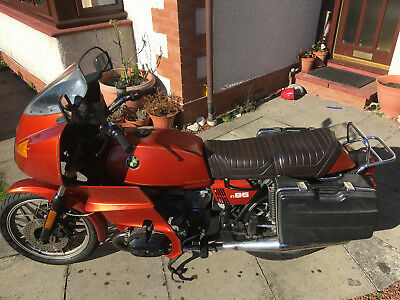 BMW R65 1979 with RS faring - red - good condition