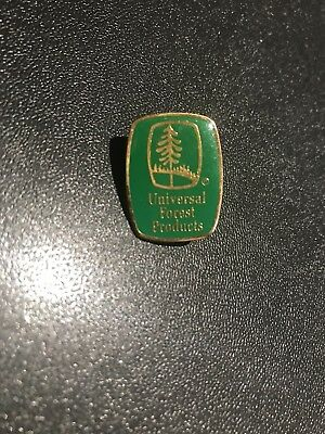 Home Depot Universal Forest Product OLD Collectible Apron Pin Homer Retail Rare