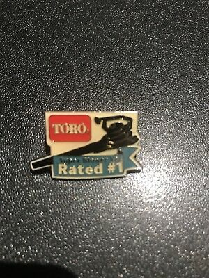Home Depot Toro Blower Lawn Tools OLD Collectible Apron Pin Homer Retail Rare
