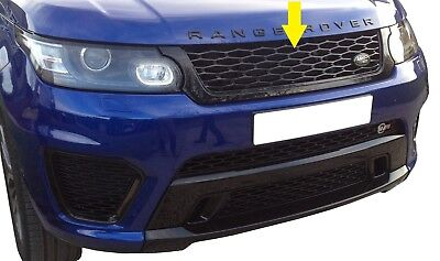 Front Grille Sport Autobiography SVR style for Range Rover 2014 V8 gloss Black
