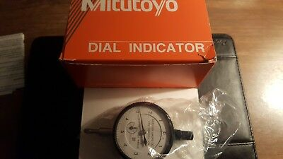 Mitutoyo dial indicator resolution .0001""