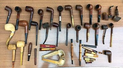 Lot de Pipes Anciennes ROPP, ARTMEER, BRUYÈRE, GBD Ect