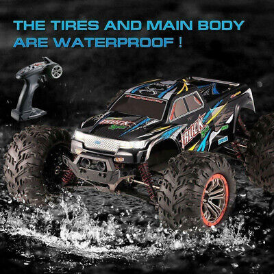 2.4Ghz Eletric RC Monster Truck Car 1:10 Scale 4WD Off-road Remote Car 46Km/h