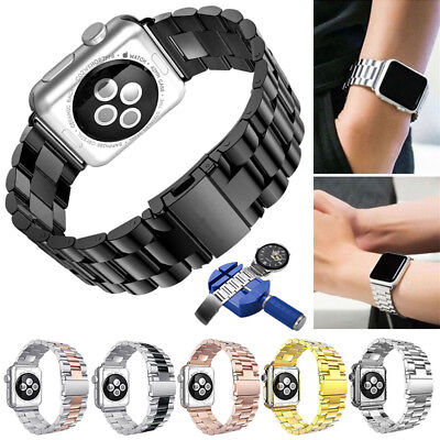 For iWatch Apple Watch Series 4 40/44mm Stainless Steel Band Strap Bracelet