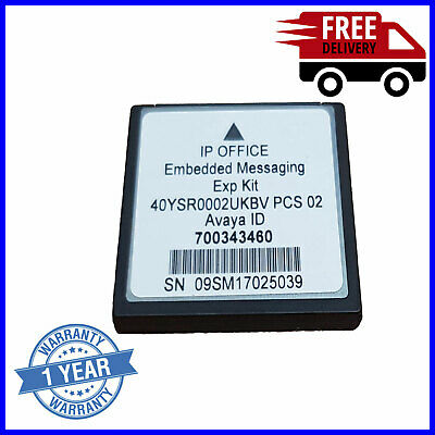 Avaya IP Office Embedded Messaging Voicemail Card 700343460
