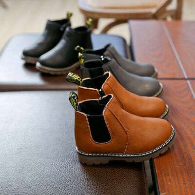 00a2c03e39 Classic Children Kids Boy Girl Martin Boots Toddler Baby Fashion Boot Ankle  Shoe