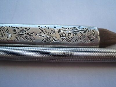 2 Hallmarked Silver Pencils, Good Condition.