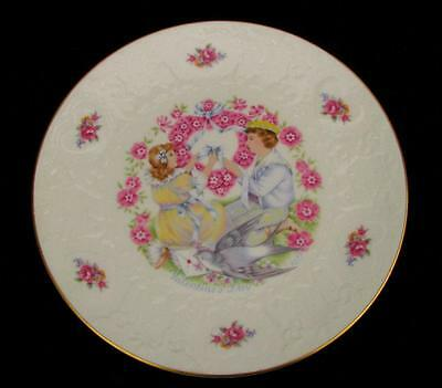 """Vintage 1976 ROYAL DOULTON England Collector Plate My Valentine 8-1/4"""""""
