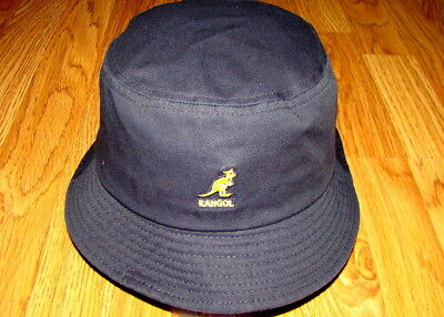 f56116382 NAVY KANGOL Washed Bucket Hat Style K4224HT