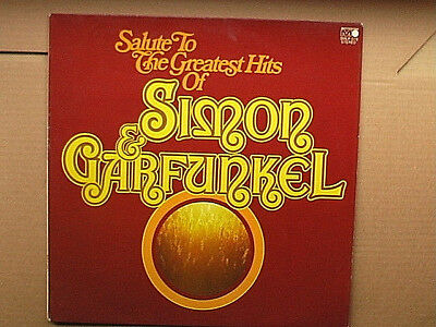 LP - Salute To The Greatest Hits Of SIMON & GARFUNKEL- Vinyl in TOP Zustand