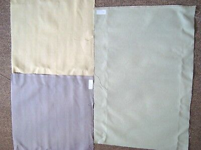 Job Lot/Bundle Of 28 Count Aida Fabric- Lemon, Lilac & Sage