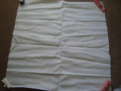 Large Piece of 18/20 Count White Aida Fabric