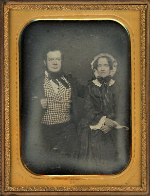 Half Plate Dag Daguerreotype Of A Couple By Rufus Anson Broadway Nyc
