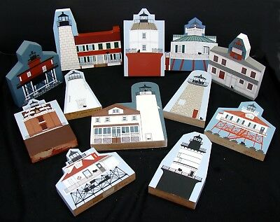 All Maryland lighthouse collection - Cat's Meow lot - Cats Meow lighthouses