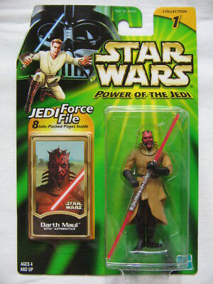 Star Wars POTJ - Darth Maul Sith Apprentice with Red Double Lightsaber